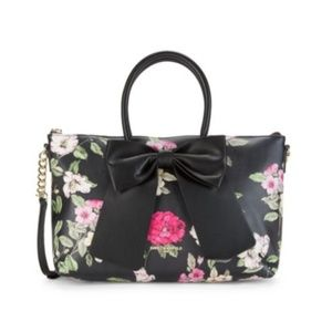 HOST PICK ! Karl Lagerfeld Floral Bow Tote